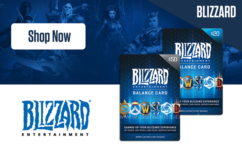 Blizzard Digital Codes