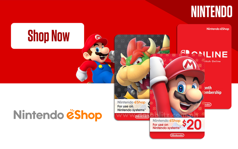 Nintendo eShop Digital Codes