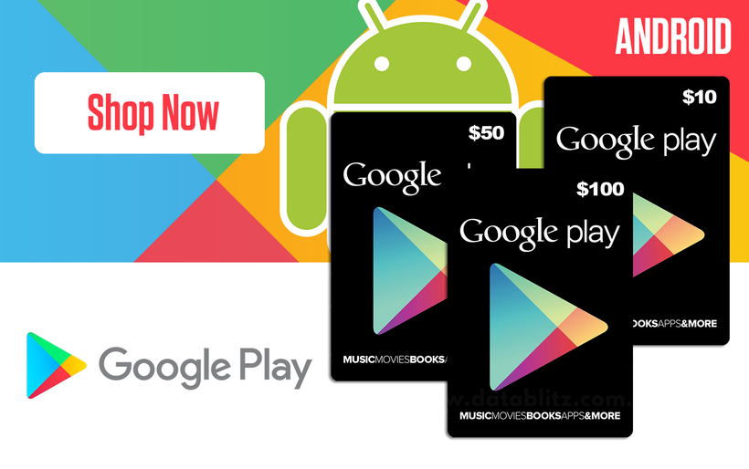 Google Play Digital Codes