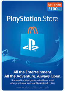 PLAYSTATION NETWORK DIGITAL CODE US$100