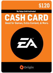 EA DIGITAL GIFT CODE - $120 US