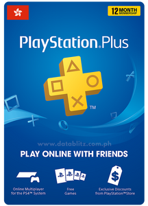 PLAYSTATION PLUS DIGITAL CODE 12 MONTHS - HK