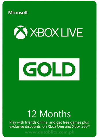 XBOX LIVE GOLD DIGITAL CODE: 12 MONTHS MEMBERSHIP US