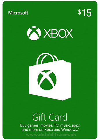 XBOX DIGITAL GIFT CODE US$15
