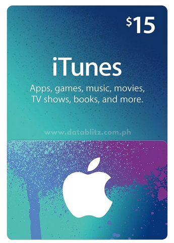 ITUNES DIGITAL CODE $15