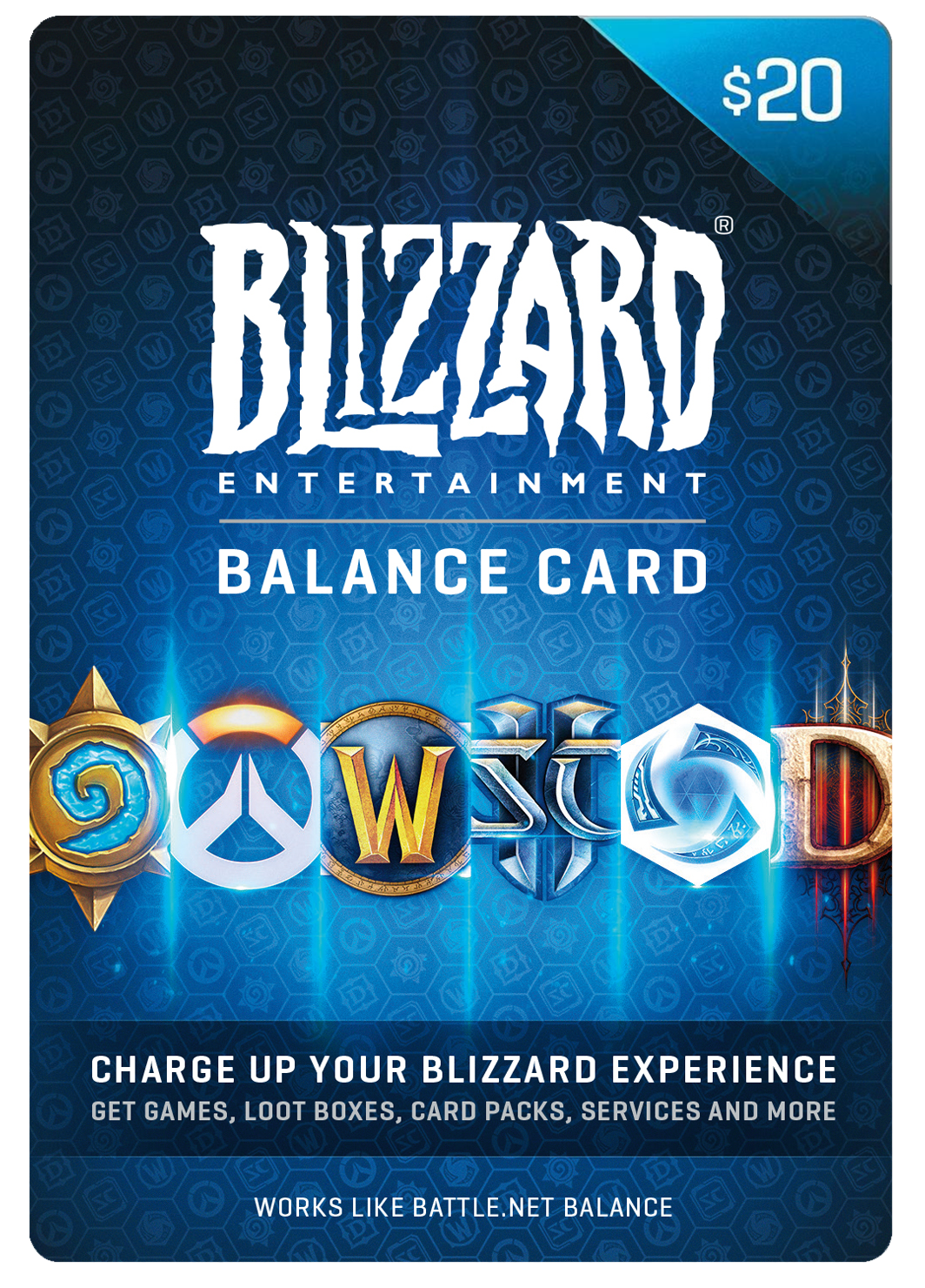 BLIZZARD DIGITAL BALANCE CODE - $20 US