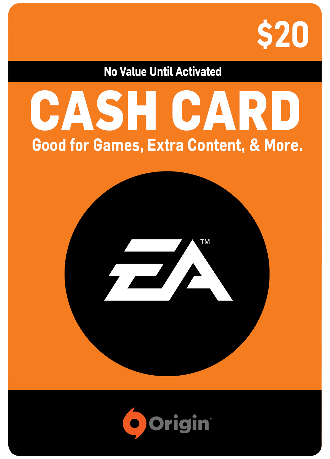 EA DIGITAL GIFT CODE - $20 US