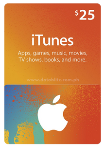 ITUNES DIGITAL CODE $25