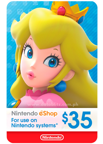 NINTENDO ESHOP DIGITAL CODE US$35
