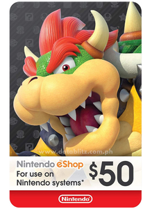 NINTENDO ESHOP DIGITAL CODE US$50