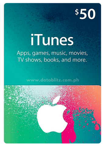 ITUNES DIGITAL CODE $50