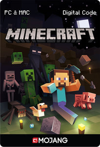 MOJANG MINECRAFT GAME CARD (US) DIGITAL CODE