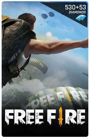 FREE FIRE 530 + 53 DIAMONDS DIGITAL CODE