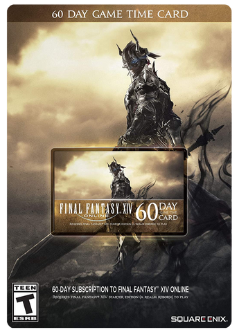 FINAL FANTASY XIV ONLINE 60-DAY SUBSCRIPTION CODE