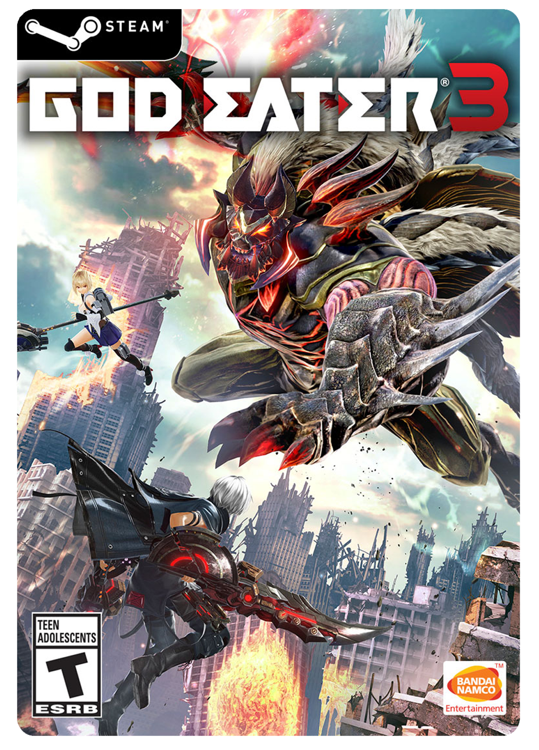 GOD EATER 3 PC STEAM DIGITAL CODE