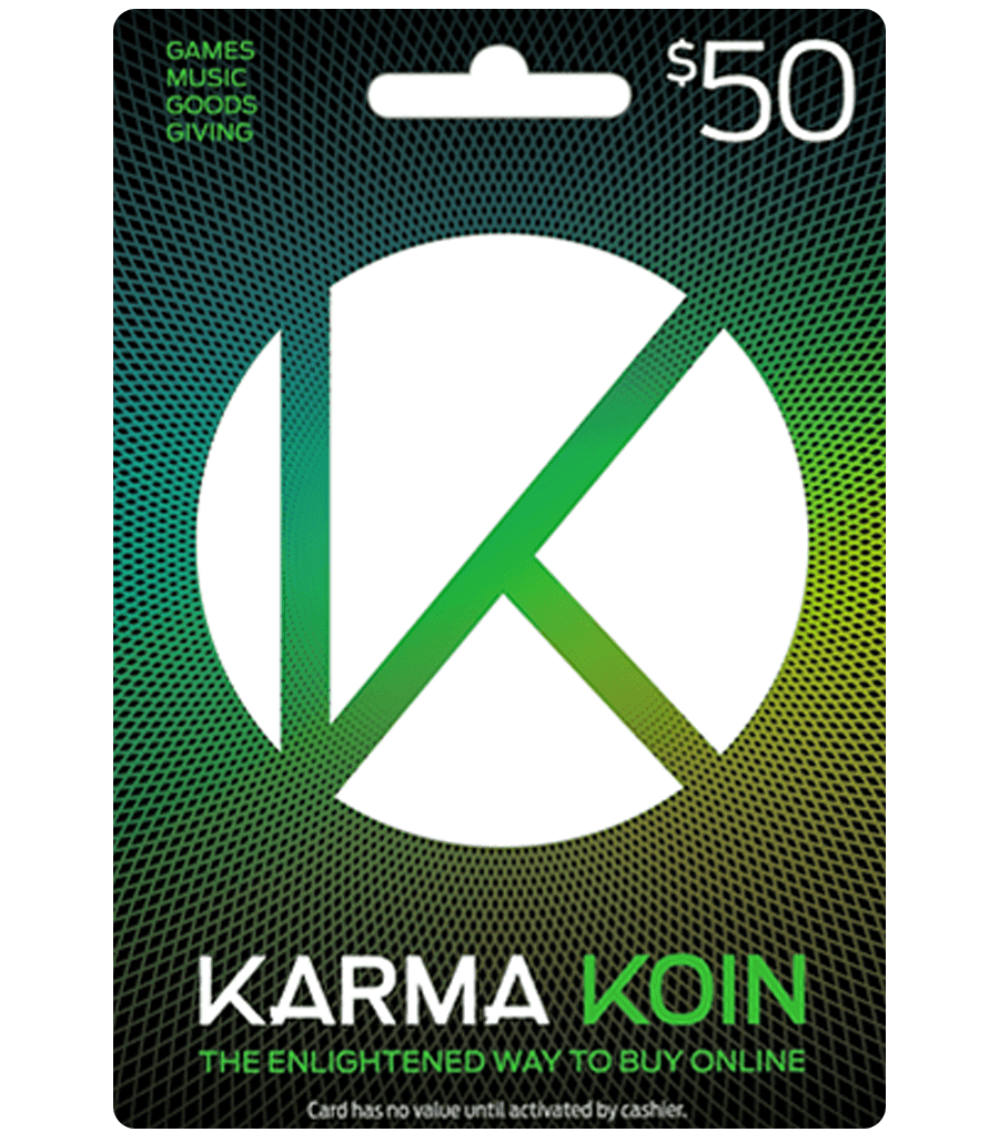 KARMA KOIN US$50 DIGITAL CODE