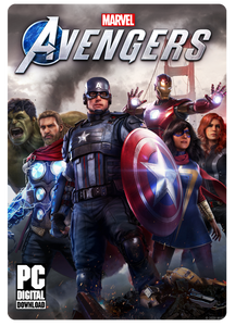 MARVEL AVENGERS PC (STEAM CODE)