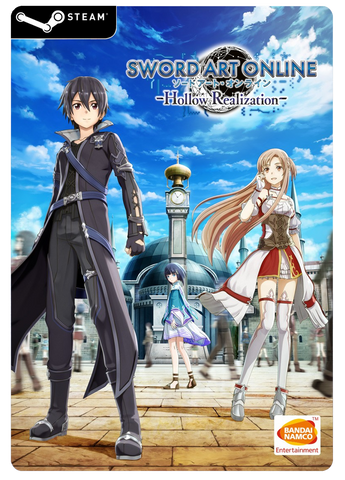 SWORD ART ONLINE HOLLOW REALIZATION STEAM PC DIGITAL CODE