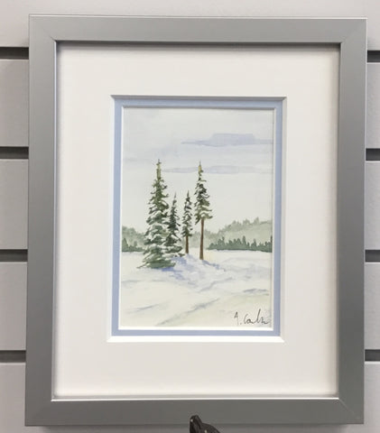 Watercolor Landscape (framed) | Austen Coulson