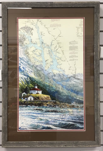 Alaska Travelers (framed) by Brenda Schwartz