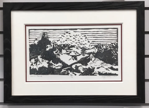 Devil's Thumb (framed) by Cindi Lagoudakis