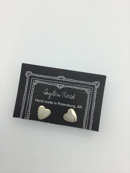 Heart Studs (multiple types available) | Taylen Reed
