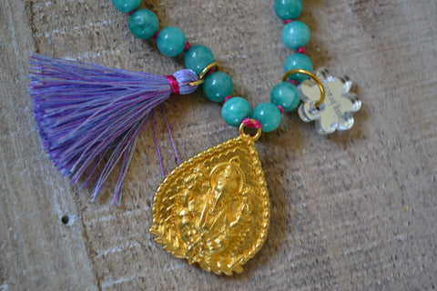 Ganesha Amulet Necklace
