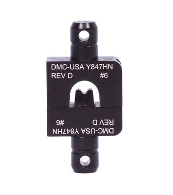 DMC Y847HN - Die Set Double Indent #6 use with HD37