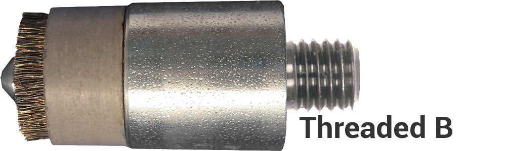 Threaded Shank - Aircraft Style B, No Thread Relief