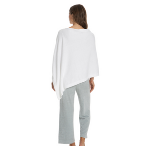 Barefoot Dreams CozyChic Ultra Lite Poncho, Sea Salt/One Size