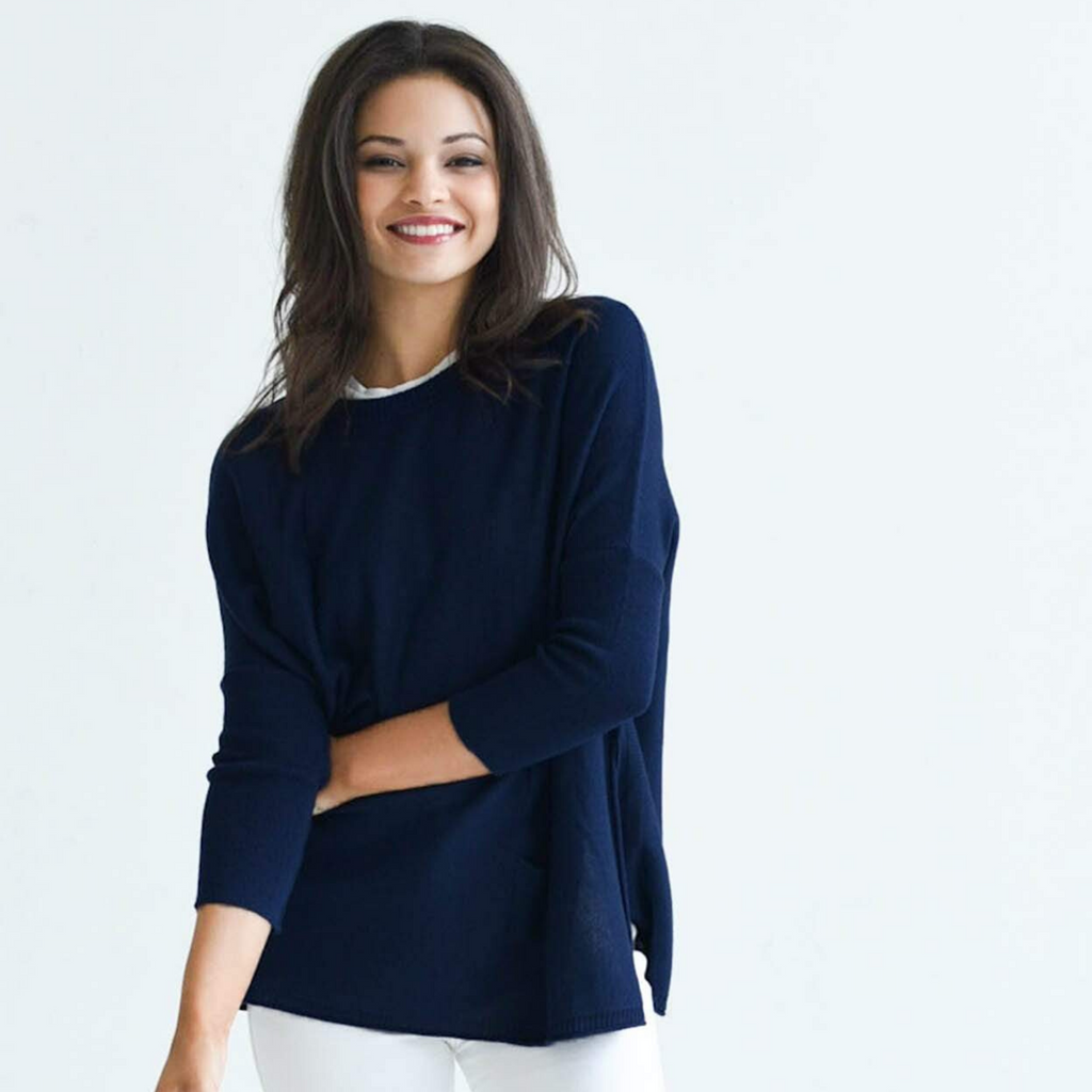 Mer-Sea Catalina Sweater - Navy