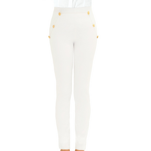 Gretchen Scott Sailor Pant - White