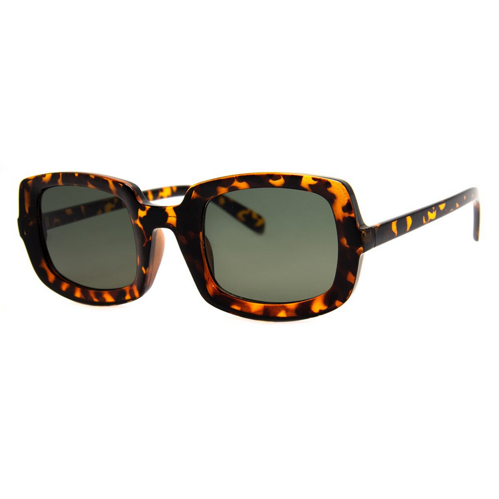 A.J. Morgan Rectangular Sunglasses - Tortoise
