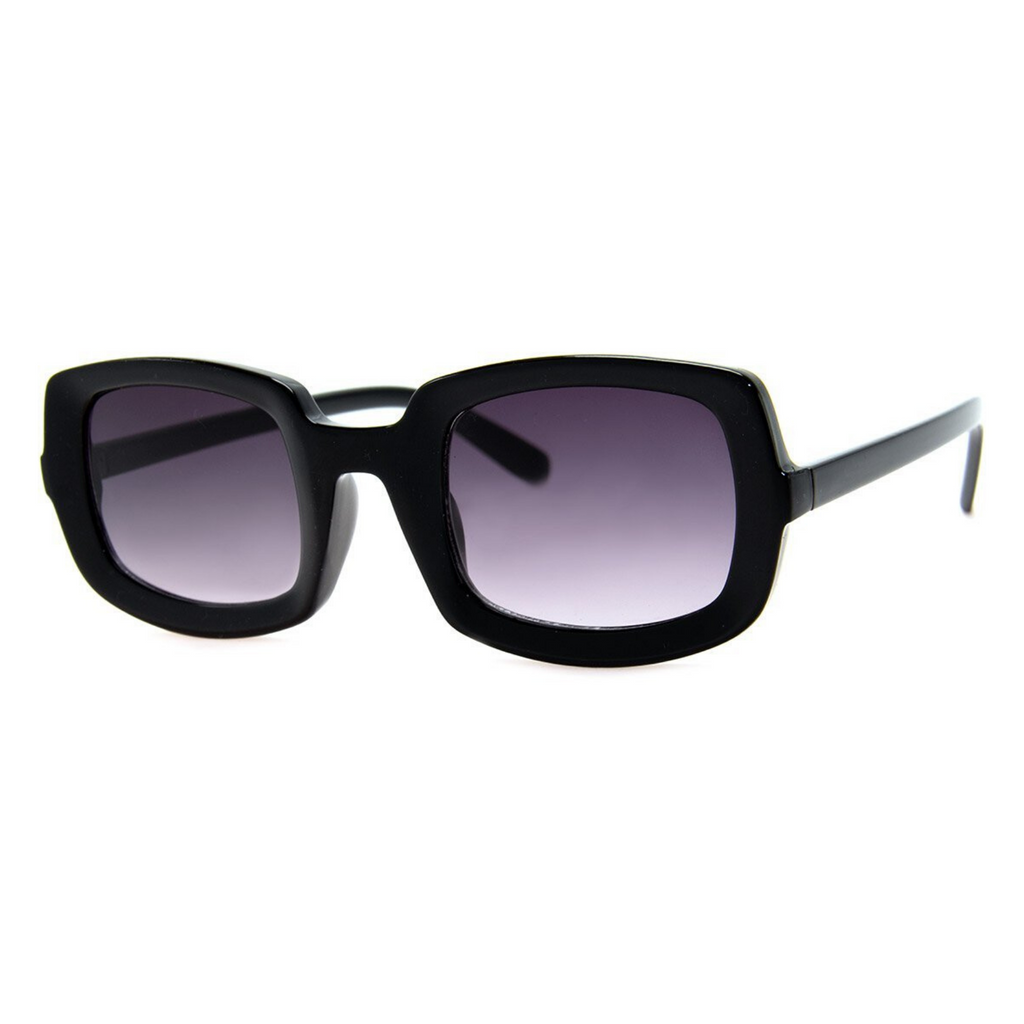 A.J. Morgan Rectangular Sunglasses - Black