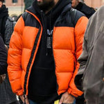 Fall/Winter Fashion Contrast Color Jacket For Men
