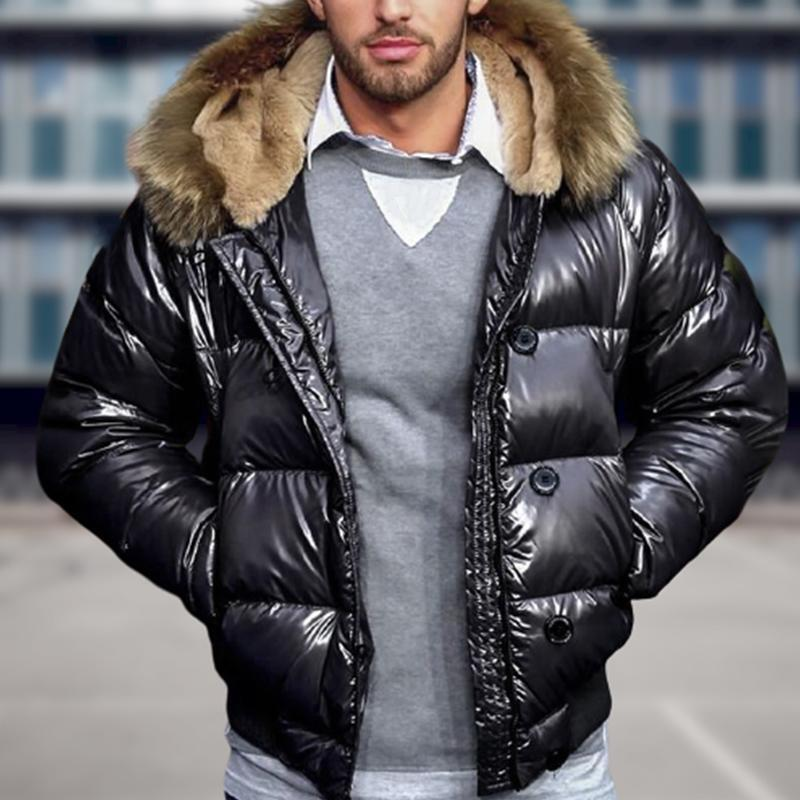 Keep Warm And Windproof Men's Coat