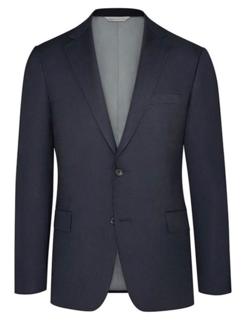 Jack Victor Luxury Wool Navy Blazer