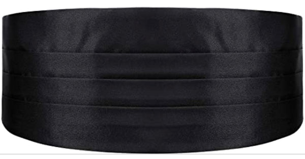 Black Formal Cummerbund