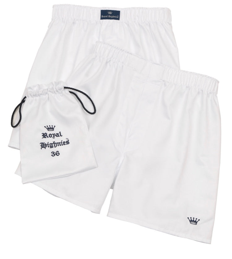 Royal Highnies Pima Cotton Boxers (Two Pack)