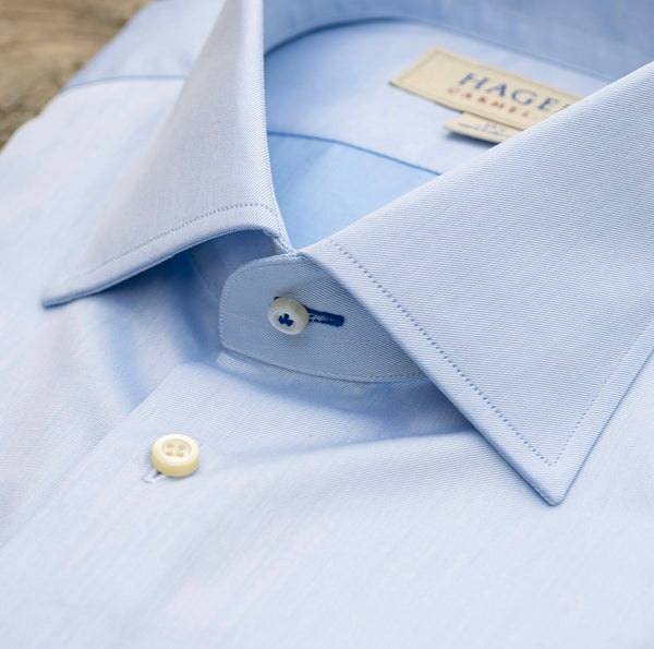 HAGEN Super Fine Twill Blue Tailored Fit