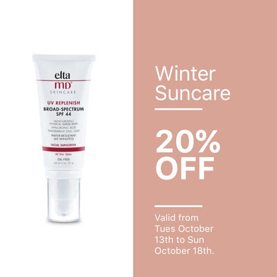 Winter Suncare 20% off