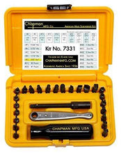 Load image into Gallery viewer, 24 Bit Allen Hex Screwdriver Set Midget Ratchet Made in the USA