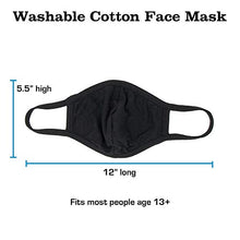 Load image into Gallery viewer, Adult Cotton Face Mask Made in USA