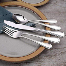 Load image into Gallery viewer, 45 Piece Classic Rim Silverware Set Made in the USA