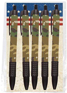 Camouflage Ballpoint Pens Made in USA