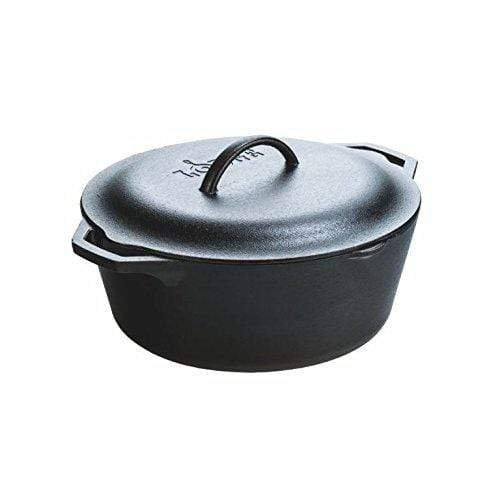 Cast Iron Pot with Lid Made in the USA