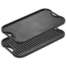 Load image into Gallery viewer, Cast Iron Reversible Grill Griddle Pan Made in the USA