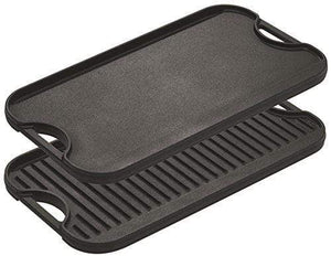Cast Iron Reversible Grill Griddle Pan Made in the USA