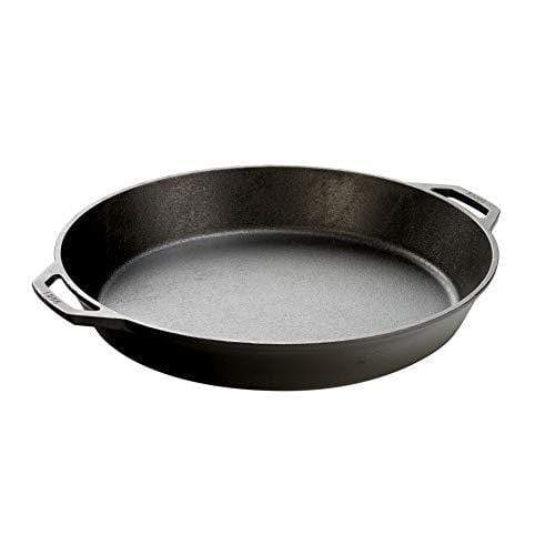 Cast Iron Skillet with 2 Loop Handles Frying Pan Made in the USA