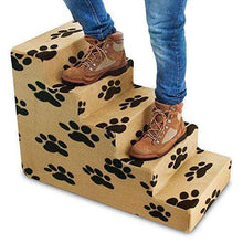 Load image into Gallery viewer, Five Step Pet Stairs Made in the USA